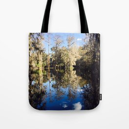 Mirror Swamp Charleston Plantation Tote Bag