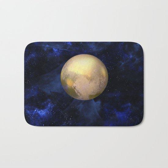 Hello Pluto! Bath Mat