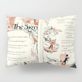 The Sign a Fairy poem Pillow Sham