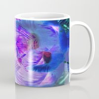 neon Mugs featuring NEON by Amelia Temple