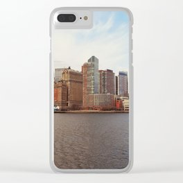 New York 12 Clear iPhone Case
