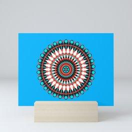 Native American Mandala Mini Art Print
