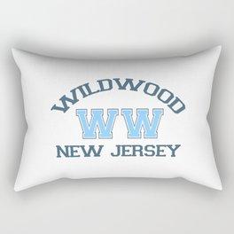 Wildwood - New Jersey. Rectangular Pillow