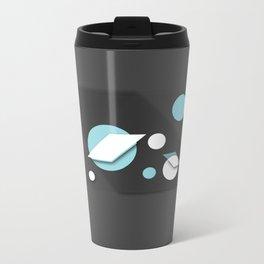WHITE BALLS Metal Travel Mug