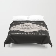 Economical Mourning and Funeral Warehouse  Duvet Cover