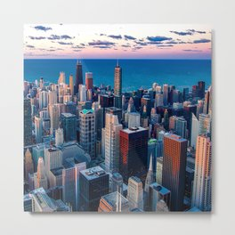 City Skyline Metal Print