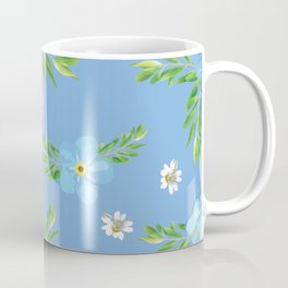 Myosotis pattern Coffee Mug