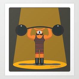 strong eye Art Print