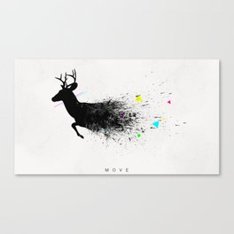 Move Canvas Print