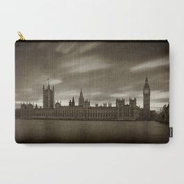 Houses of Parliament with Big Ben, London Carry-All Pouch