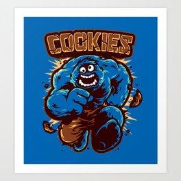 Cookies! Art Print