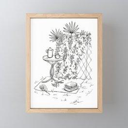 tea set Framed Mini Art Print