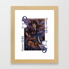 Queen of Spells Framed Art Print