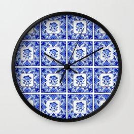 Dutchie Blues 2 Wall Clock