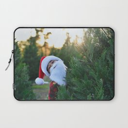 Santa Claus Is Coming To Town Laptop Sleeve