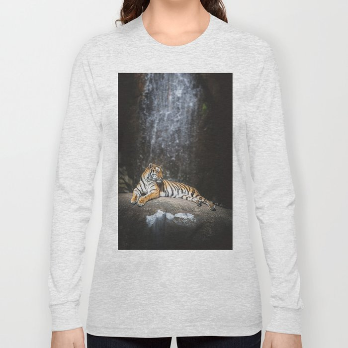 Big cat Long Sleeve T-shirt