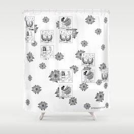 Lighter Babez Shower Curtain