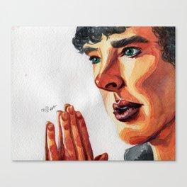 Sherlock look Canvas Print