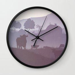American Ranch Wall Clock