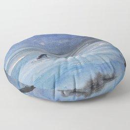 Shallow water Floor Pillow