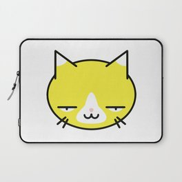 Kore wa Cat (Smug Yellow Cat) Laptop Sleeve