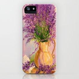 A bouquet of lavender iPhone Case