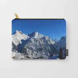Winter Panorama in Austria Carry-All Pouch