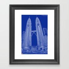 Petronas Towers Framed Art Print