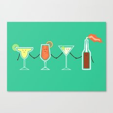Cocktails! Canvas Print