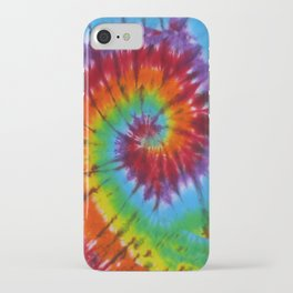 Tie Dye 004 iPhone Case