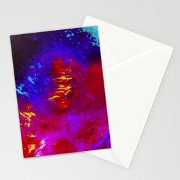 Abstract The Perfect Storm by Robert S. Lee Stationery Cards