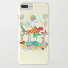The Birthday Party Clown Shark iPhone 7 Plus Slim Case