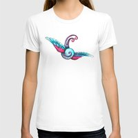 swallow T-shirts featuring Swallow  by Rebecca Jobling