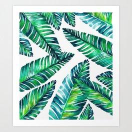 Live tropical I Art Print
