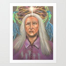 Indian Elder Art Print