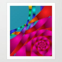 fractal geometry -130- Art Print