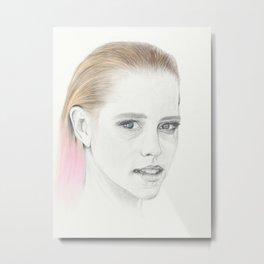Pretty women Metal Print