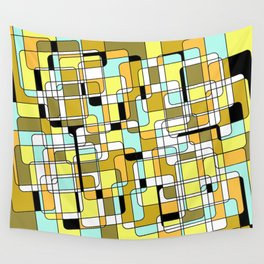 Compostion 4 1977 Wall Tapestry