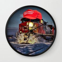 MAGA Train Wall Clock
