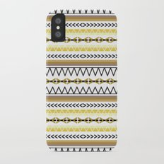 Tribal Gold iPhone X Slim Case