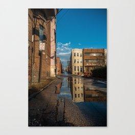 The Warmup  Canvas Print