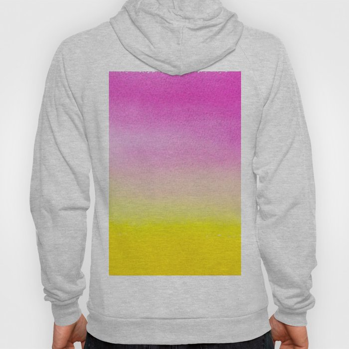 Abstract painting in modern fresh colors Hoody