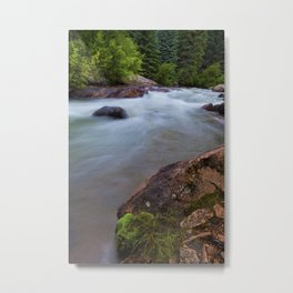 Summer On the Platte River Metal Print