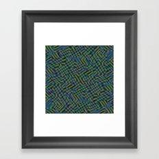 INTERSECT 2 Framed Art Print