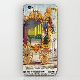 Vintage poster - Calliope iPhone Skin