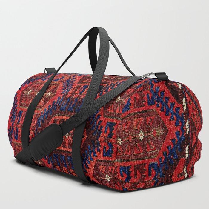 Baluch__Antique__Khorasan_Persian_Rug_Print_Duffle_Bag_by_Vicky_BragoMitchellAr__SET_OF_3