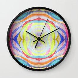 Geometric Botanicals 2 Wall Clock