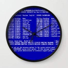 Bluescreen Wall Clock