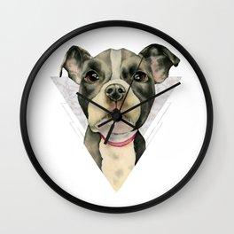 Puppy Eyes 2 Wall Clock