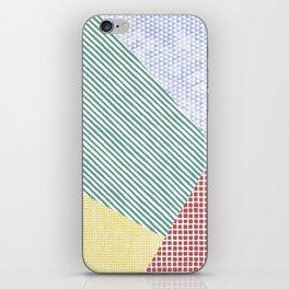 Chalk Patterns iPhone Skin